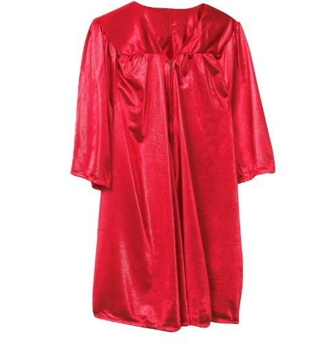 Fun Express Red Graduation Child Robe Party Supply, Red