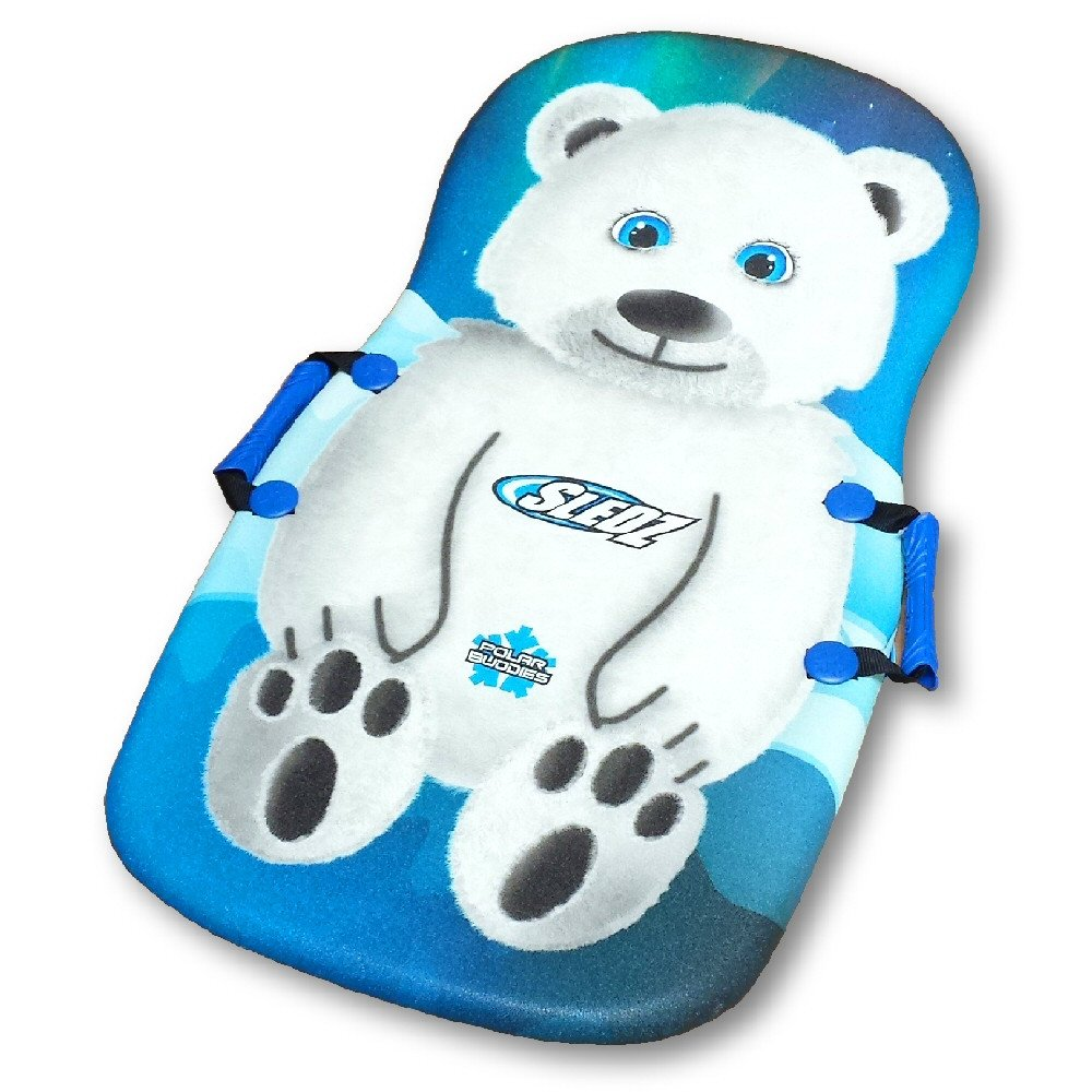 "Sledz Polar Buddies Polar Bear 36"" Foam Snow Sled by"