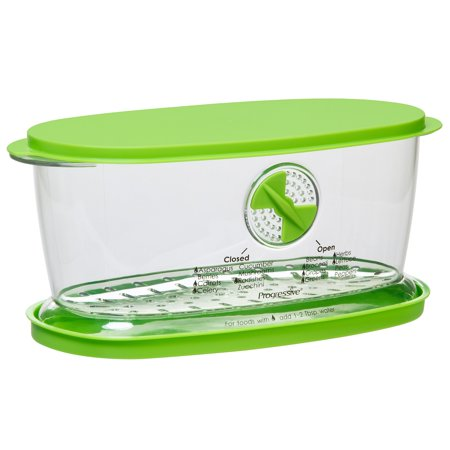 Prepworks Fruit And Veggie Keeper, Clear and Green