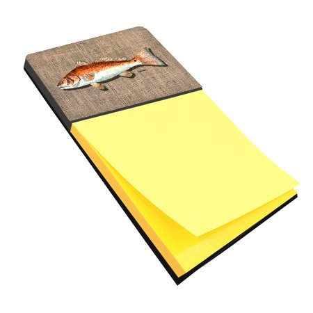 Red Fish Refiillable Sticky Note Holder or Postit Note Dispenser 8736SN for $<!---->