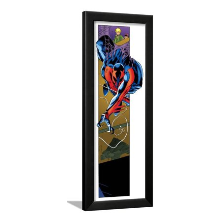 Ultimate Spider-Man Style Guide: Spider-Man 2099 Framed Poster Wall