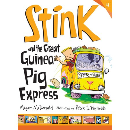 Stink and the Great Guinea Pig Express (Things To Put In A Guinea Pig Cage)