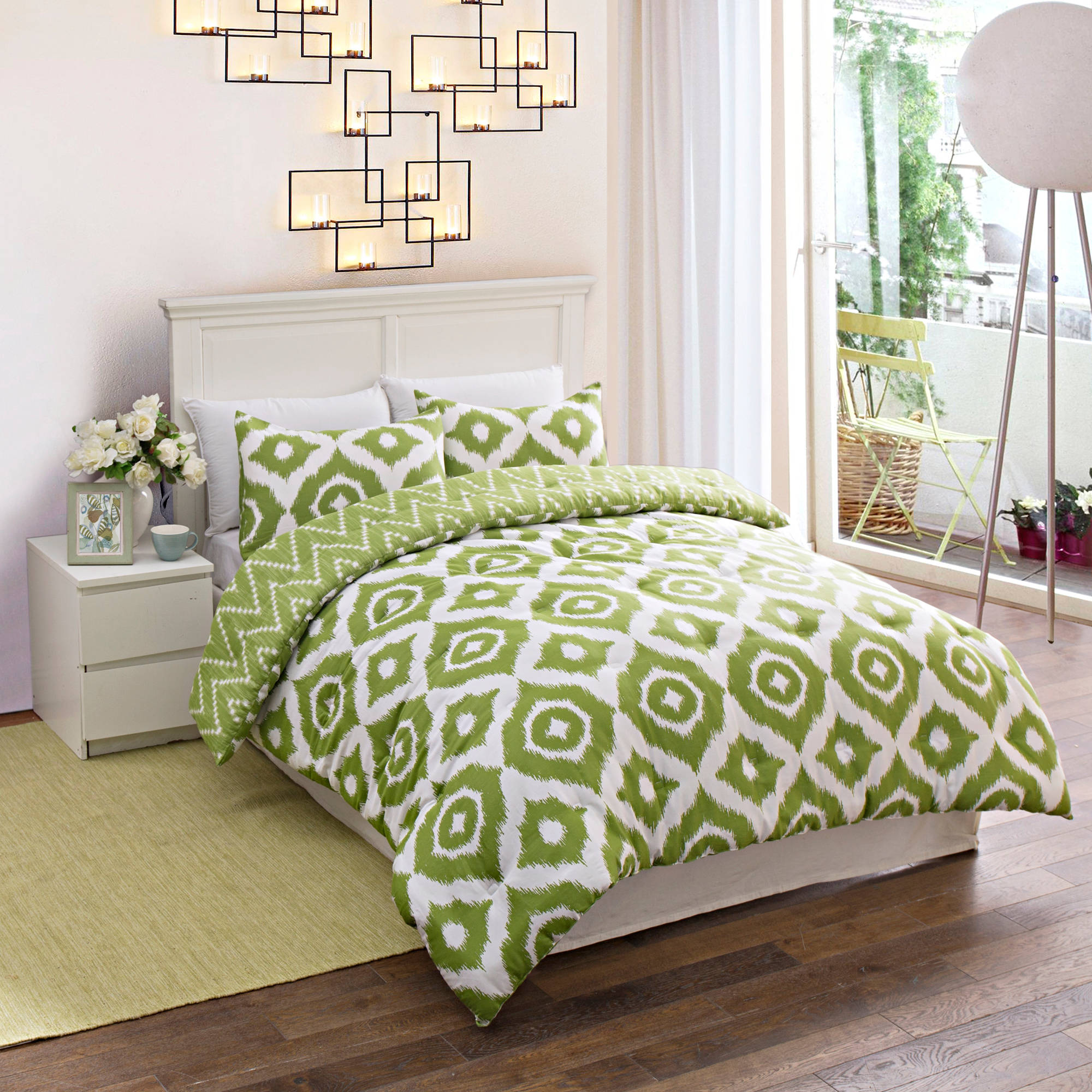 Geo Medallion Bedding Comforter Set