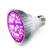 50W Full Spectrum E27 LEDs Grow Light Bulbs for Flower Plant Hydroponics Greenhouse Organic Indoor Plants