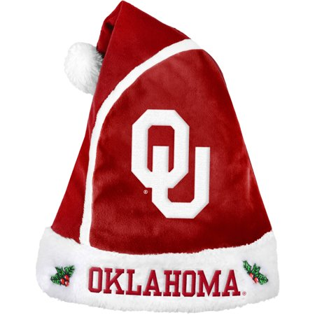 Forever Collectibles NCAA 2015 Santa Hat, University of Oklahoma Sooners