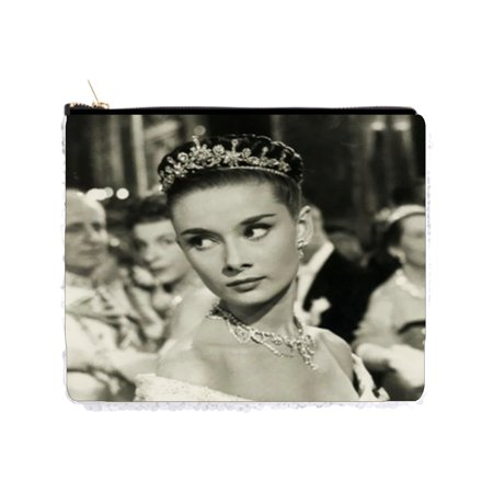Audrey Hepburn in a Crown - Double Sided 6.5