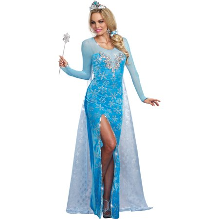 Ice Queen Women's Adult Halloween Costume (Ice Queen Halloween Costume Ideas)