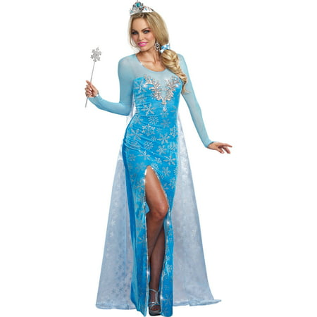 Ice Queen Women's Adult Halloween Costume](Snow Queen Costume Adults)