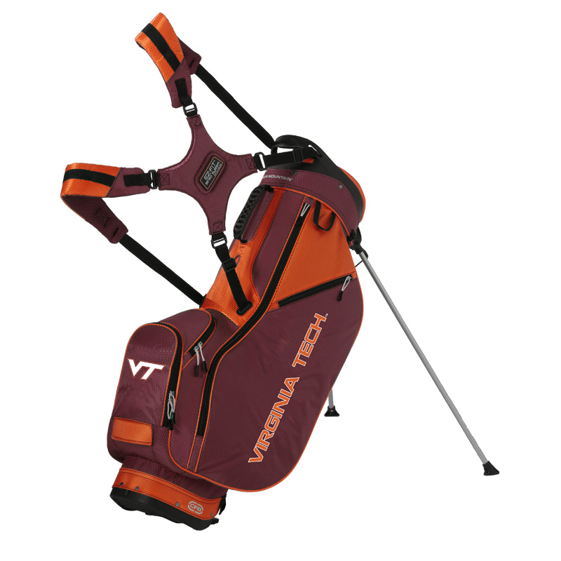 Virginia Tech Hokies Stand Bag by Sun Mountain