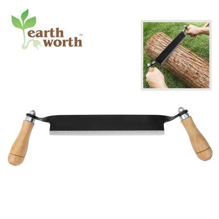 Worth 5 Tool - Earth Worth | Straight Draw Shave Tool | 10 Inch | Black