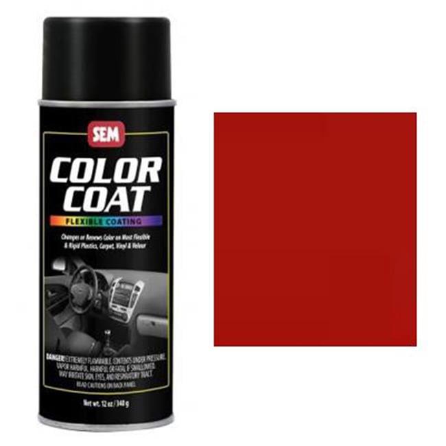SEM Products 15363 Color Coat- Portola Red, Aerosol