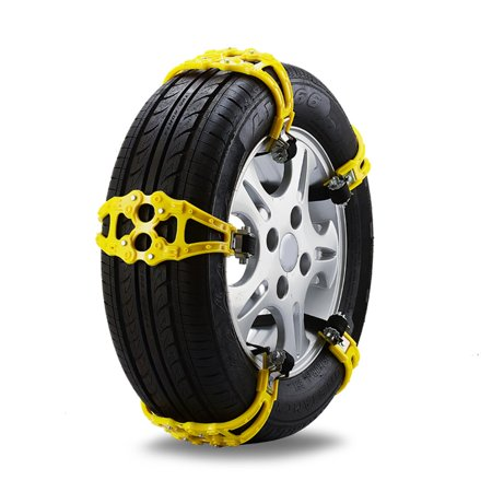 Universal Buckle Snow Tire Adjustable Anti-skid Chains Gear Clasp Wheel Chain - image 3 of 5