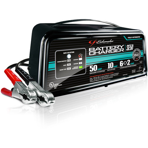 Schumacher Electric 2/10/50-Amp 12V Battery Charger