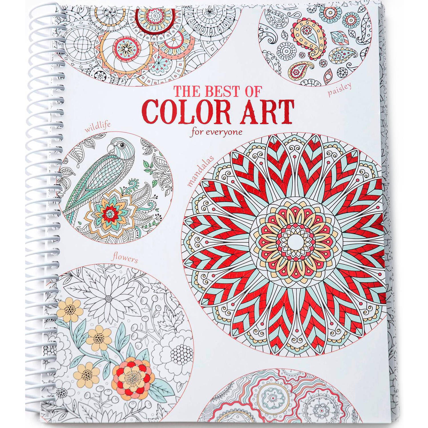 Leisure arts inc the best of color art for everyone coloring book 1 each walmart com