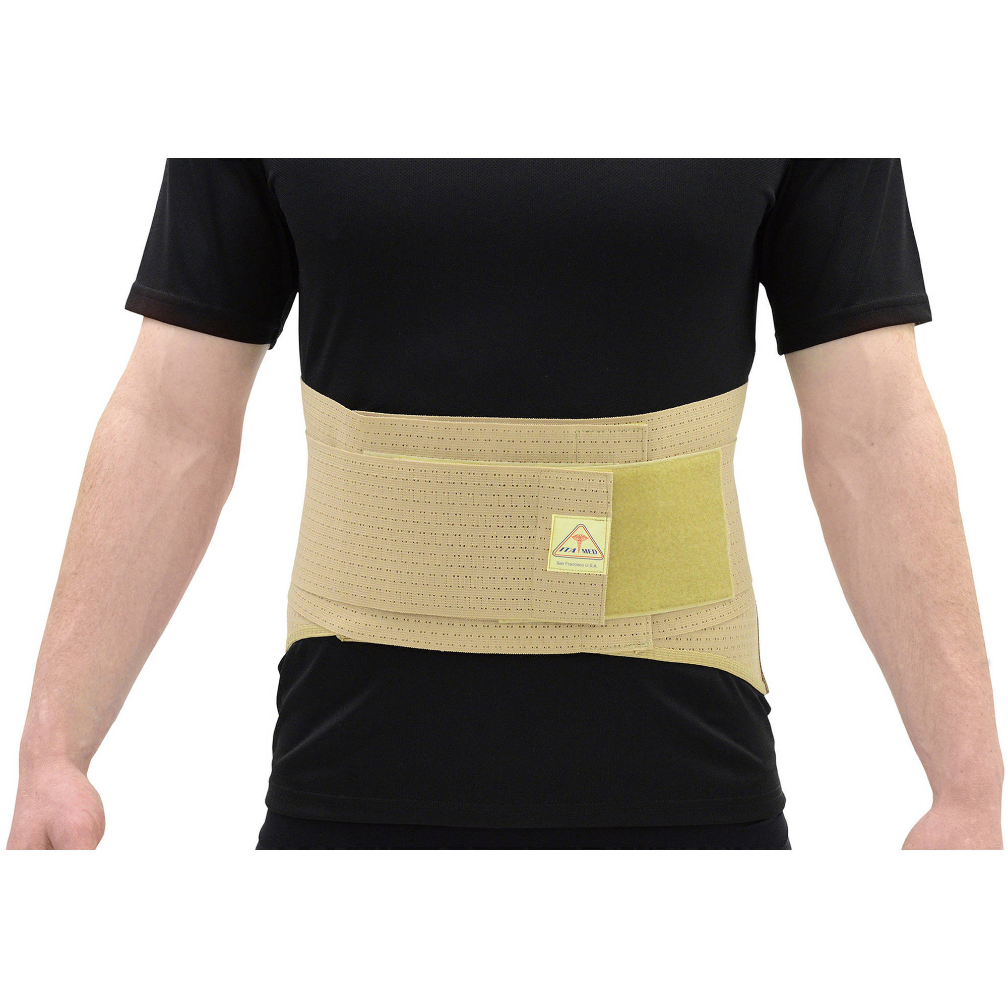 "ITA-MED Elastic Duo-Adjustable Back Support Belt (9"" Wide): BS-229"