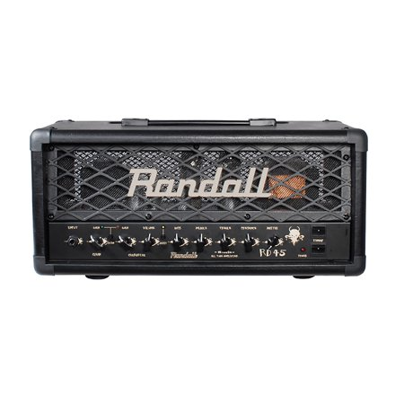 Tube Guitar Head (Randall RD45H Diavlo 45W Tube Guitar Head Black)