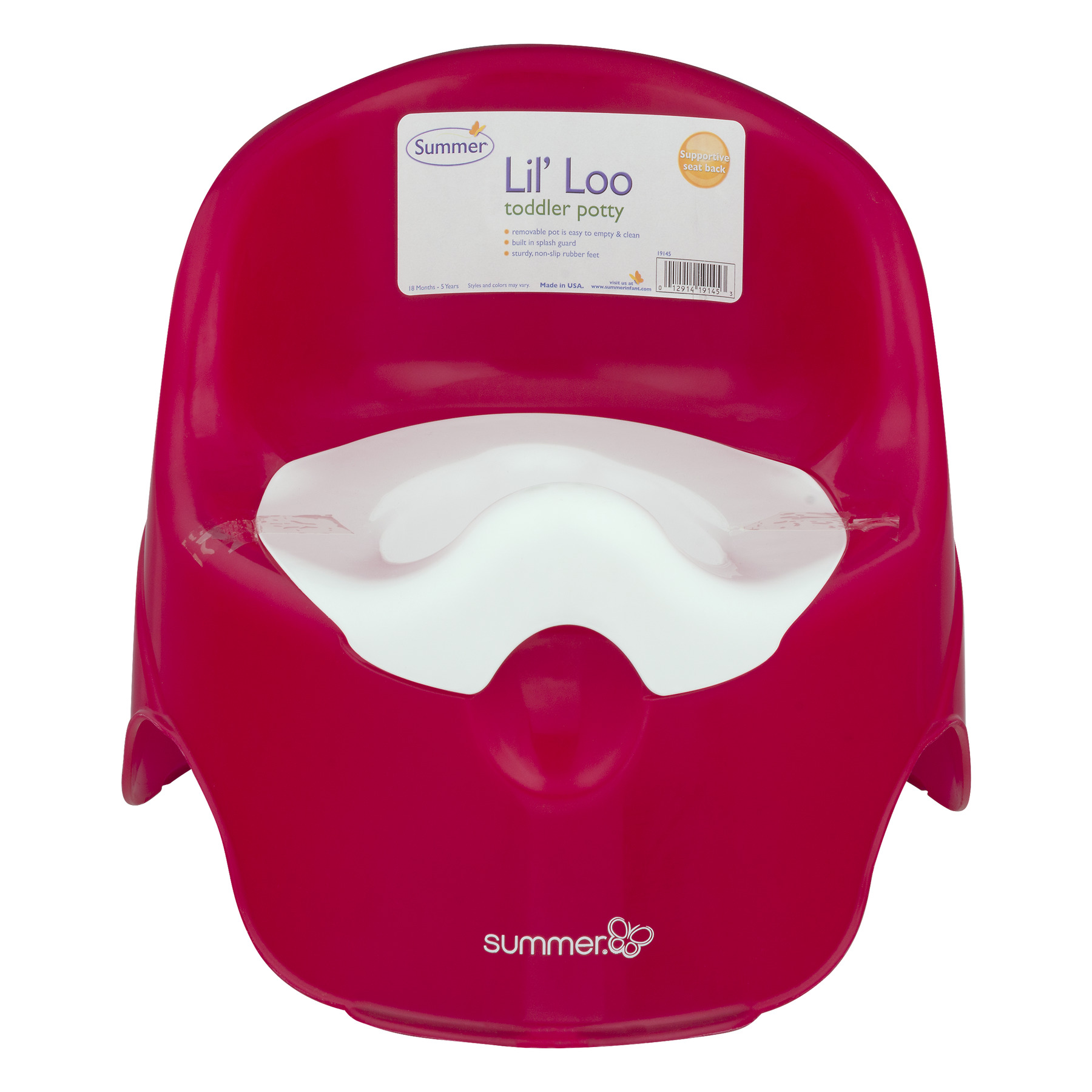 Summer Lil' Loo Toddler Potty, 1.0 CT