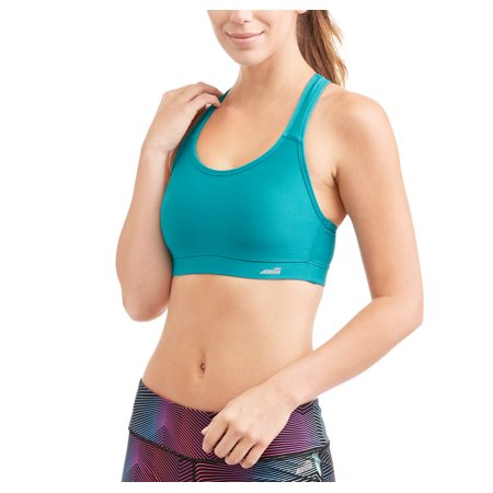 Avia Womens Active High Impact Molded Cup Sports Bra