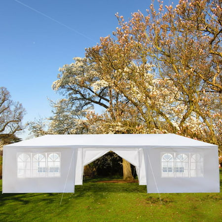 Ktaxon 10' x 30' Canopy Tent with 8 Side Walls for Party Wedding Camping and BBQ