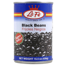 La Fe Black Beans In Water And Salt