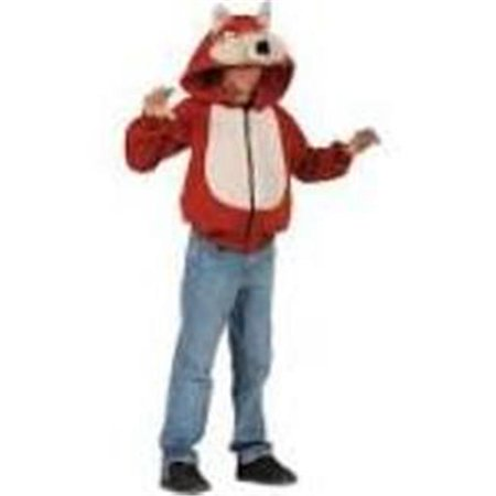 Rg Costumes 40533-L Child Wild Fox Hoodie Costume - Red, Large ()