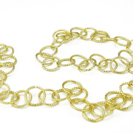 Gold China Garland (Sage 6' x 1