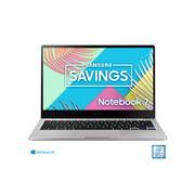 SAMSUNG Notebook 7, 13.3 FHD LED, Intel Core i5-8265U, 8GB DDR4 RAM, 256GB SSD, Platinum Titan - NP730XBE-K03US