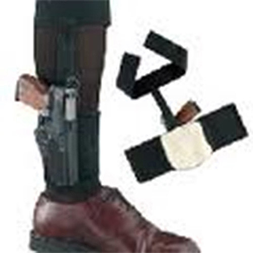Gould & Goodrich Black Ankle Holster Plus Garter
