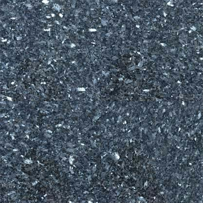 10 Sq Ft. Of  Blue Pearl 12X12 Polished