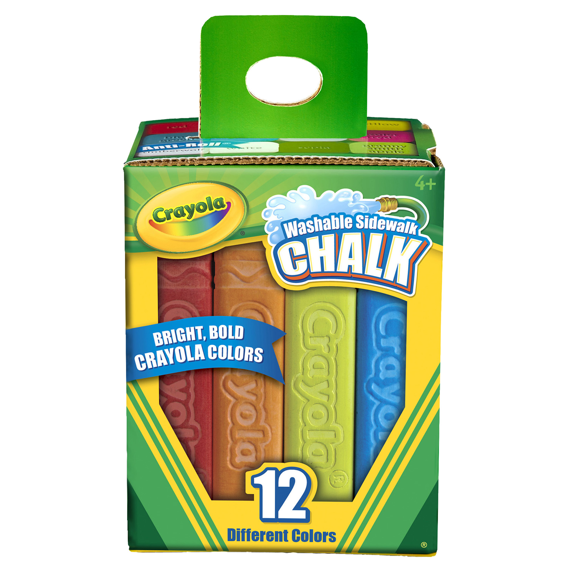 Crayola® Washable Sidewalk Chalk, 12 ct per box, Set of 8 boxes