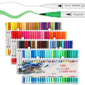 Crayola Fine Line Marker Set Stocking Stuffers Gift Ages 12 40 Count