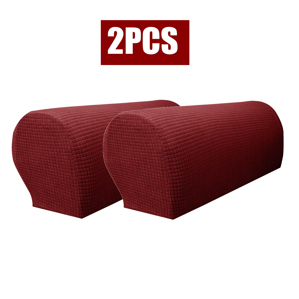2 4pcs Stretch Furniture Armrest Covers Slipcovers Sofa