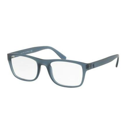 POLO Eyeglasses PH2161 5612 Matte Transparent Navy Blue (Polo Glasses For Men)