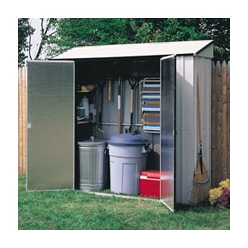 Arrow 7 ft. 3 in. W x 2 ft. 5 in. D Metal Vertical Tool Shed