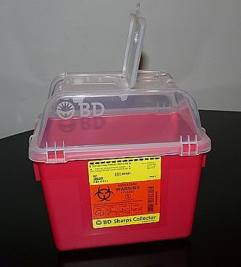 Container, Sharps Opn Top 8Qt  (Units Per Case: 24)