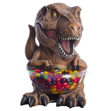 Jurassic World T-Rex Candy Bowl & Holder Small](Halloween Candy Bowl Holder)