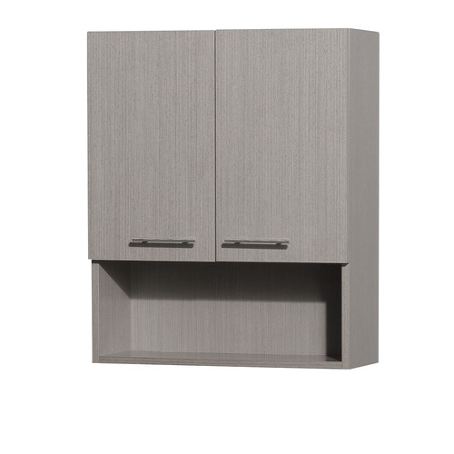 wyndham collection centra wallmounted bathroom storage cabinet grey oak