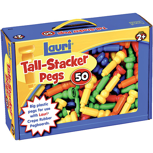 Extra Pegs for Smart Shapes(TM) (50 Pieces)
