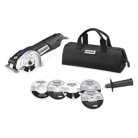 Dremel Us40-03 7.5 Amp 4-Inch Ultra Saw Tool Kit With Saw Blades