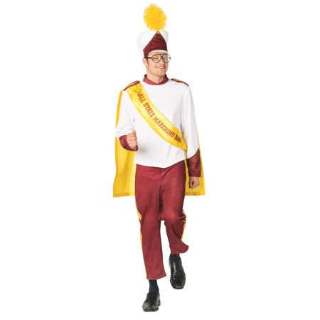 Male Marching Band Men's Adult Halloween Costume, One Size, (40-46) (Scherzi Di Halloween)