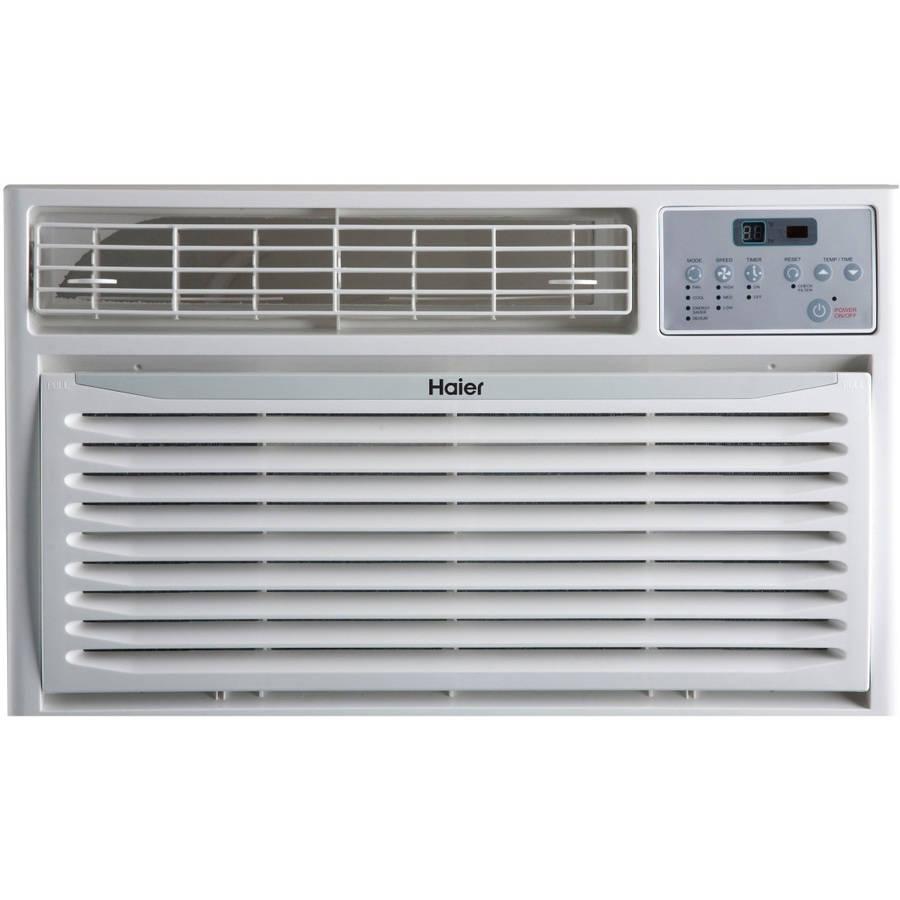 Haier 12,000 BTU Through-The-Wall Air Conditioner, White, HTWR12XCR