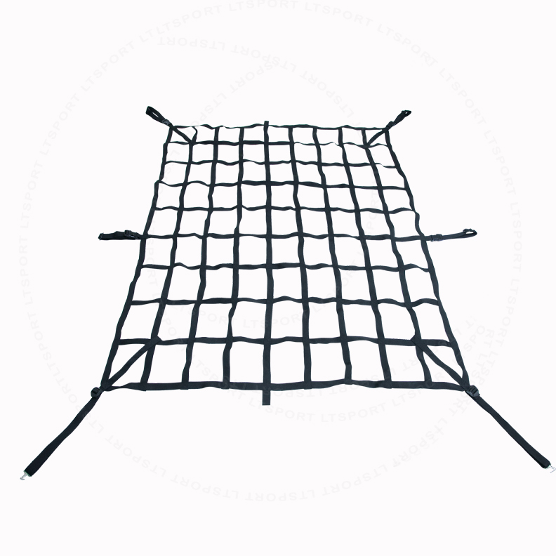 Fit Ford Cargo Net Rear Trunk Organizer Heavy Duty Luggage Holder Tail Gate Storage Carrier Trailer Web For F-150 1997 1