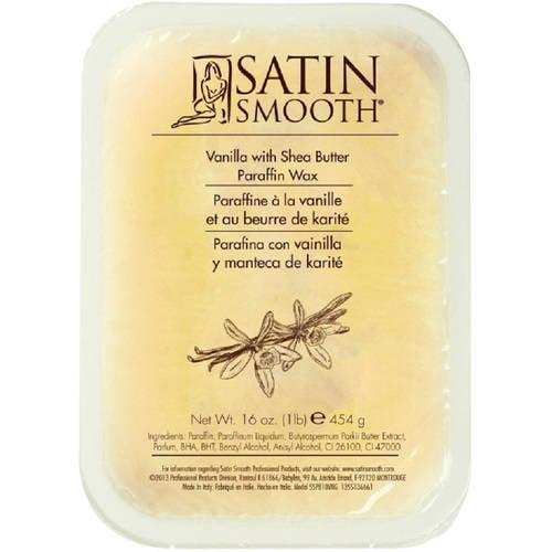 Satin Smooth Vanilla with Shea Butter Paraffin Wax, 16 oz
