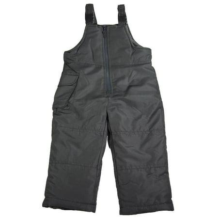 Toddler & Girls Adjustable Shoulder Strap Bib Pant Snowpants, 40053 Black / - K2 Girls Ski