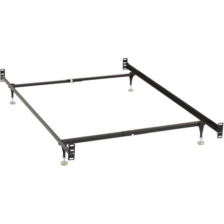 bivona company twinfull metal bed frame with headboard and footboard conversion kit - Metal Bed Frame With Headboard