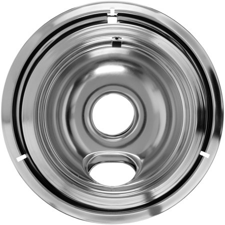 Ge Chrome Bowls - Mainstays Chrome Drip Bowl Set, 2 Piece