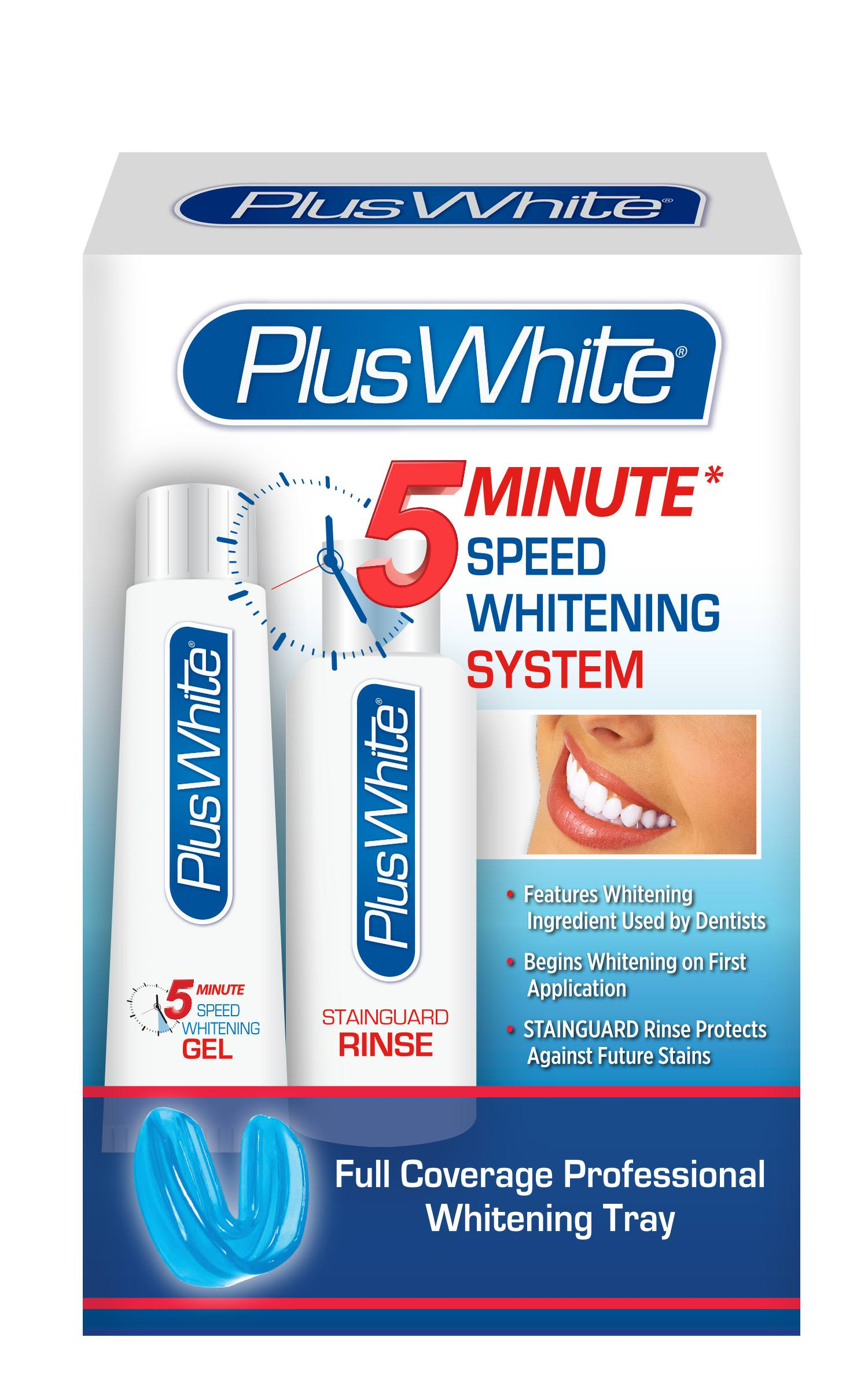 Plus White 5 Minute Premier Speed Whitening System Walmart Com