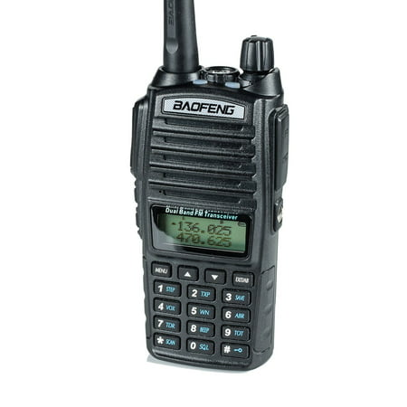 BaoFeng UV-82HP High Power Dual Band Radio: 136-174mhz (VHF) 400-520mhz (UHF) Amateur (Ham) Portable (Best Dual Band Ham Radio)