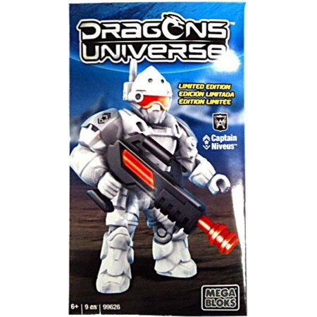 Dragons Universe Captain Niveus Set Mega Bloks (Mega Bloks Dragons Krystal Wars Man O War)