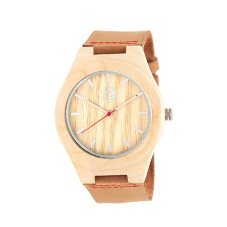 Earth EW4101 Aztec Unisex Camel Leather Watch with Khaki & Tan Analog Dial Watch Dial Analog Display - image 1 de 1